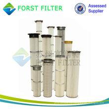 FORST Bolsa de filtro plisado para filtro de polvo industrial