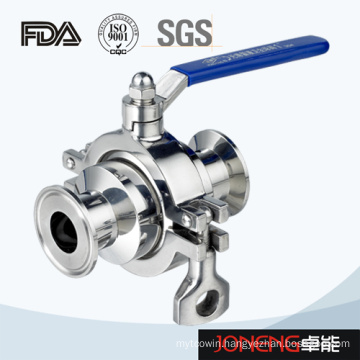 Stainless Steel Food Processing Manual Clamped Ball Valve (JN-BLV1002)