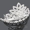 Gros accessoires pour cheveux cristaux couronne cheveux peigne