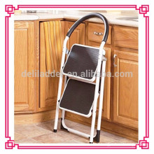 ladder structure folding step stool /library ladder