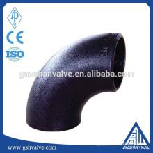 carbon steel 90 degree long radius elbow