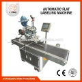 High speed single sided adhesive labeling machine, round bottle adhesive labeling machine