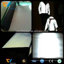 high light 4 way stretch reflective knit cotton fabric / luminated fabric