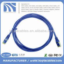 6ft rj45 cat5 cat6 Cable de conexión Cable Ethernet Lan 4pr 24awg