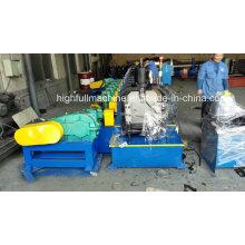 Máquina de formação de rolos de calha de estufa