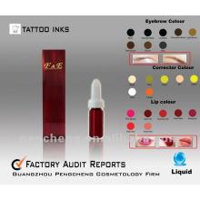 Tatouage / tatouage à lèvres liquides et à sourcils de haute qualité