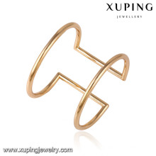 51588 xuping atacado 18k banhado a ouro pulseira de moda feminina com pedra