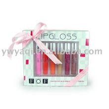 lip gloss cosméticos conjunto