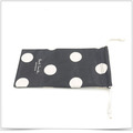 Digital Transfer Printing Microfiber Cell Phone Pouch with Double Side Pull