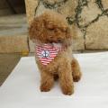 Großhandel meistverkauften Anchor Stripe Cotton Günstige Haustier Schal Hund Bandana