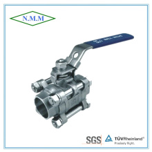 Stainless Steel Socket End 3PC Ball Valve