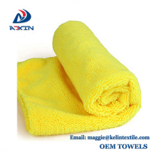 Chiffon de nettoyage magique / microfibre serviette de nettoyage / serviette en microfibre
