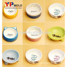 trending products ABS pet bowl injection mould plastic molded