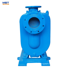 6 inch electric engine driven self-priming sewage pump