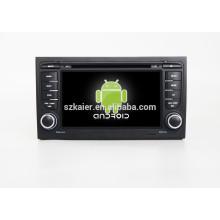 HOT! Dvd de voiture avec lien miroir / DVR / TPMS / OBD2 pour 7 pouces écran tactile complet 4.4 système Android A4