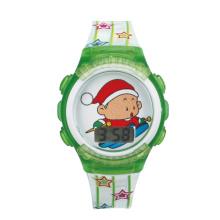 Hot-selling new kids cartoon character design watch led digital wrist watches