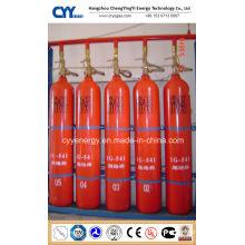 Hochdruck-CO2-nahtlose Stahl-Feuerlösch-Gasflasche mit verschiedenen Kapazitäten