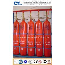 Cylindre de gaz anti-incendie en acier à haute pression à CO2 à haute pression avec différentes capacités