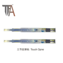 New Touch Open Iron Drawer Slide