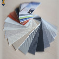 Lona de rollo de malla plana de varios colores