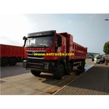 Hongyan 20 Ton 8x4 Dump Trucks