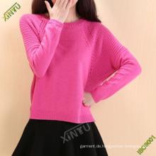 Frauen-Art- und Weisebaumwolldruck-T-Shirt