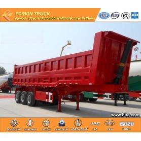 3 axles Dump semi trailer 60000kg