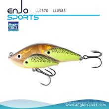 Angler Select School Fish Lipless Fishing Tackle Lure with Bkk Treble Hooks (LL0585)