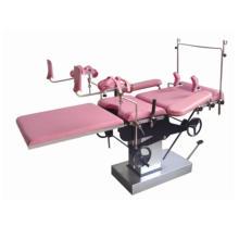 Lit de gynécologie hospitalière, table obstétricale