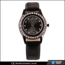 Reloj de cuero de la PU reloj de señoras reloj de cuero