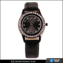 Западные часы PU кожаный ремешок смотреть женские часы