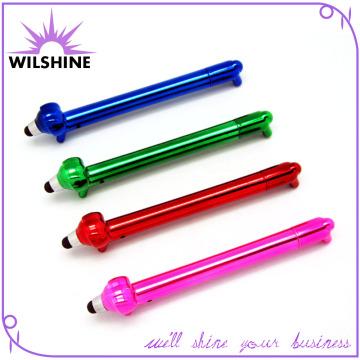 Lovely Plastic Novelty Dog Shaped Stylus Pen for Promotion (DP505)