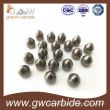 Morceaux de bouton de foret de roche de carbure cimenté