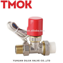 Brass temperature controller electric radiator valve