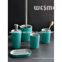 Two Tone Polyresin Bathroom Accessory Set (WBP0236O)