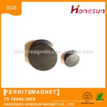 China supplier Custom strong ceramic ferrite disc magnets