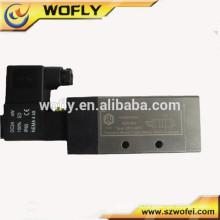 Válvula de solenoide 5/2 vías de aire neumático