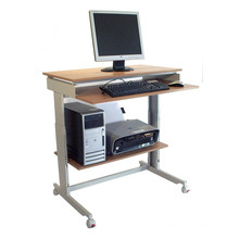 Twinco Clik Ergonomic Stand up Desk Copter Workstation Beech