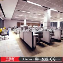 Plástico de PVC Planking para escritório piso térreo feito na China