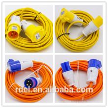 LP-02134 CEE PLUG COUPLER H07RN -F 3X1.5 3X2.5 CABLE LED