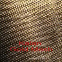 Écran d'or pur de haute qualité / maillage d'or / maillage d'or ---- fournisseur d'usine de 30 ans