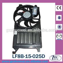 2000cc Mazda 3 Auto Eletrônico AC Condensador Radiador Fan Motor LF8B-15-025D, LF8B-15-025