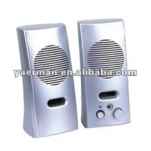 1-2$ 2.0 cheap mini usb computer speaker,plastic speaker