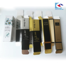 embalaje natural puro lápiz labial para cosméticos
