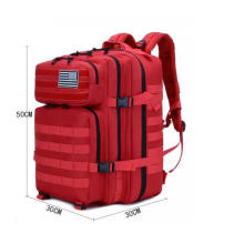 Military Style Tactical Army 3 Day Assault Pack Molle Bag Hiking Backpack for Outdoor Travel