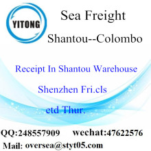 Shantou Port LCL Consolidation To Colombo