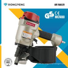 Rongpeng Mcn80 Nuevo producto Clavadora de paletas de aire Herramientas eléctricas