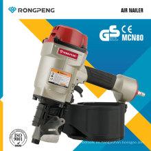 Rongpeng Mcn80 Nuevo producto Air Nailer Pallet Nailer Herramientas eléctricas