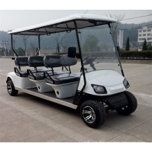6 seater gasoline power golf cart