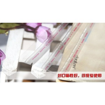Frosted PO cloth packing adhesive poly bag